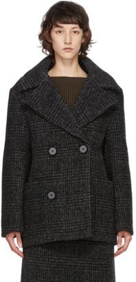 Proenza Schouler Black Wool Double-Breasted Jacket