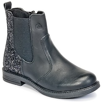 Citrouille et Compagnie HAYULE girls's Mid Boots in Black