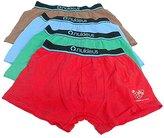 2x Nukleus Kids Boys' Underwear Boxers Organic Cotton Anti-Allergic Top Comfort Plain