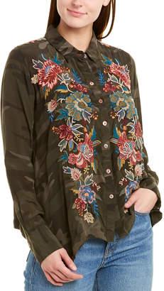 Johnny Was Tyrell Handkerchief Shirt