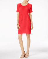 MICHAEL Michael Kors Pleated Dress