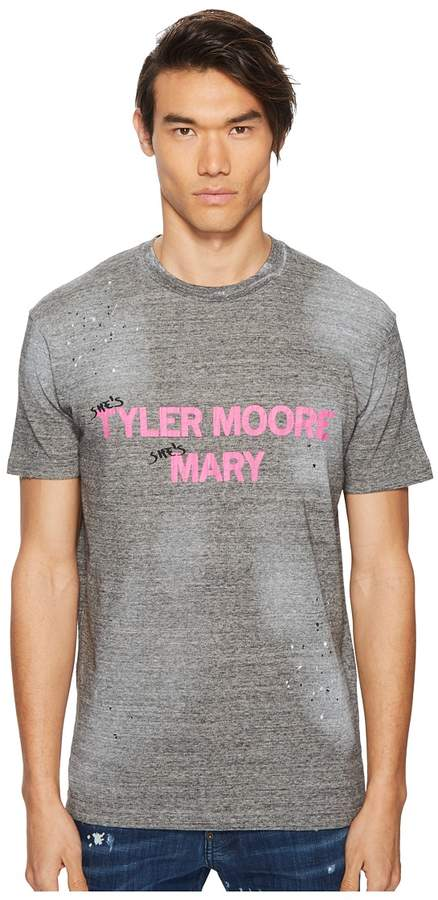 DSQUARED2 Tyler Moore Mary T-Shirt Men's T Shirt