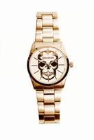 Zadig & Voltaire Timeless Skull 36 Gold Watch