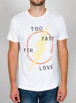 Junk Food Clothing Flash Too Fast For Love Tee-elecw-m