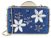 Franchi Floral Snap Clutch