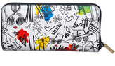 Alice + Olivia Stace Face Graffti Print Long Wallet