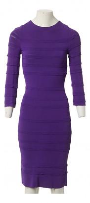 Christian Dior Purple Viscose Dresses