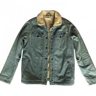 Sandro Blue Denim - Jeans Coat for Women