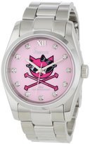 Freelook Women's HA5304-5C Viceroy Kitty Pink Dial Stainless-Steel Case and Bracelet Watch