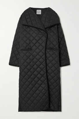Totême Annecy Oversized Quilted Padded Shell Coat