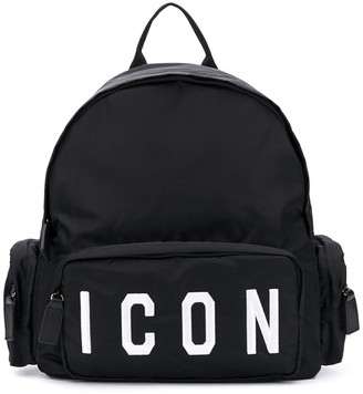 DSQUARED2 Logo Embroidered Backpack