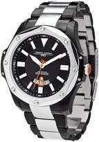 Jorg Gray Men's Textured Dial Stainless Steel