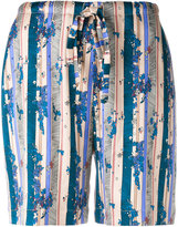 La Perla floral print shorts - women - Silk/Spandex/Elastane - 36