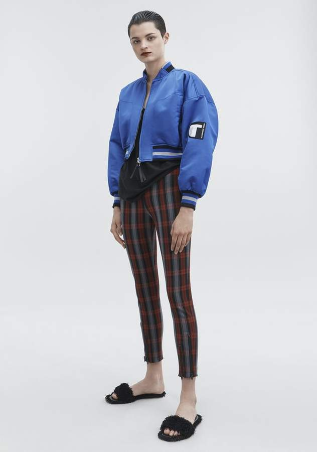 Alexander Wang CROPPED BOMBER