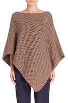 Eleventy Merino Wool & Cashmere Honeycomb Poncho