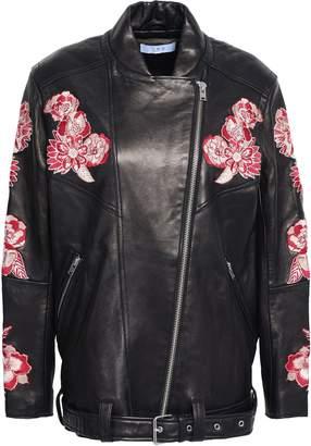 IRO Embroidered Leather Jacket
