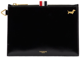 Thom Browne Black Large Hector Coin Purse
