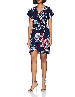 Yumi Women's DRES Wrap Dress,8 (Size:8)