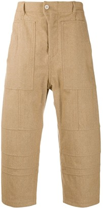 Julien David Panelled Culotte Trousers
