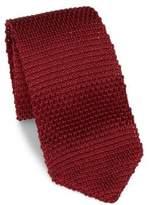 hook + ALBERT Solid Silk Knitted Tie