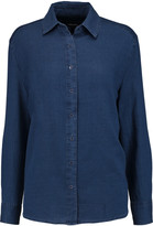 J Brand Pacific cotton and silk-blend shirt