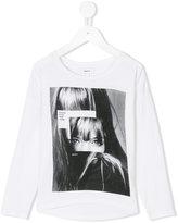 DKNY printed T-shirt - kids - Spandex/Elastane/Viscose - 4 yrs