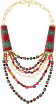 Devon Leigh Tribal-Inspired Multi-Strand Statement Necklace