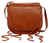 Urban Expressions Ellison Vegan Leather Saddle Crossbody