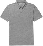 Sunspel - + Iffley Road Stanton Slim-fit Mélange Tech-piqué Polo Shirt
