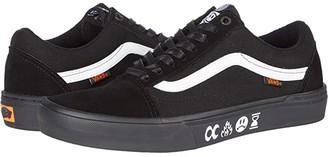 Vans Old Skooltm Pro BMX ((Cult) Black/Black) Athletic Shoes