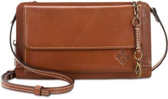 Patricia Nash Azario Smooth Leather Crossbody Organizer Wallet