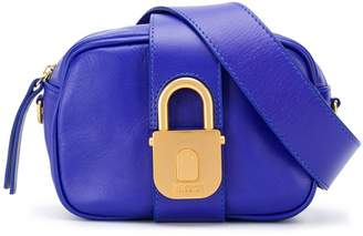 Just Cavalli padlock clasp belt bag