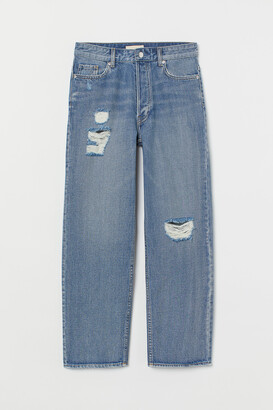 H&M Tapered Ankle Jeans