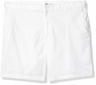 "Izod Men's Big & Tall Big and Tall Saltwater 10.5"" Flat Front Chino Short"