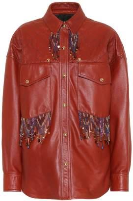 Acne Studios Arlari leather jacket