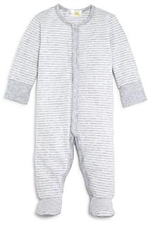 Bloomie's Unisex Striped Footie - Baby
