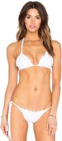Sofia by Vix Fringe Ripple Triangle Bikini Top