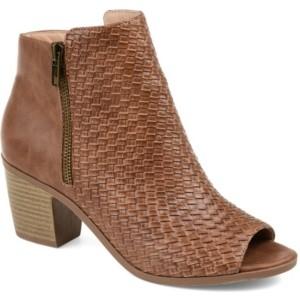 Journee Collection Women's Comfort Pilar Bootie Women's Shoes