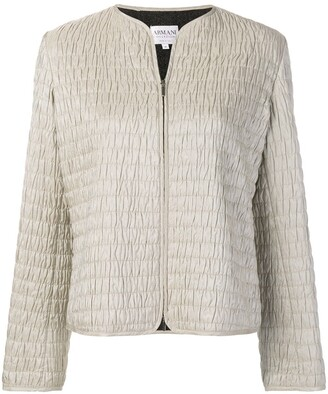 Giorgio Armani Pre-Owned 1990's Textured Jacket