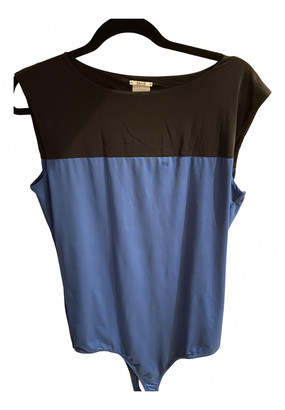 Wolford Blue Synthetic Tops