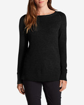 Eddie Bauer Women's Lux Thermal - Crewneck Sweater