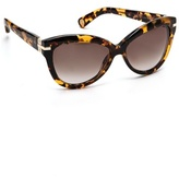 Thumbnail for your product : Marc Jacobs Exaggerated Cat Eye Sunglasses