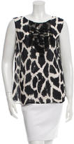 Giambattista Valli Sleeveless Printed Top