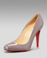 Patent Square-Toe Pump