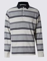 Marks and Spencer Pure Cotton Soft Touch Rugby Top