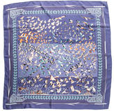 Hermes Libres Comme l'Air Silk Scarf