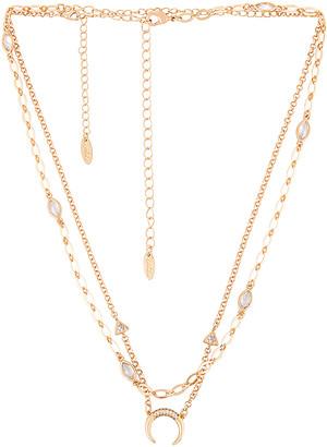 Ettika Moon Necklace Set