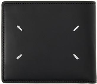 Maison Margiela Black Zip Card Case Wallet