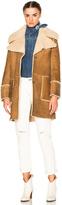 MiH Jeans Fairport Shearling Coat