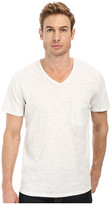 7 For All Mankind S/S Raw V-Neck Tee